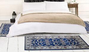 W525 tappeti camera letto 3 pezzi parure tris orientali scendiletto - Tappeti camera da letto amazon ...