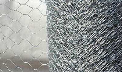 6ft tall, 75ft long Extra Strong heavy duty 25mm chicken wire hexagonal mesh