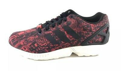 save off 4b5cf 9361d Adidas Originals ZX Flux City Pack MOSCOW Men s Size 10.5 Red Black M21775  Rare!