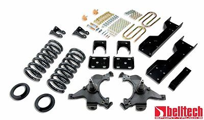 Belltech 88-98 Silverado Ext Cab 4/6 Drop Lowering Kit 693