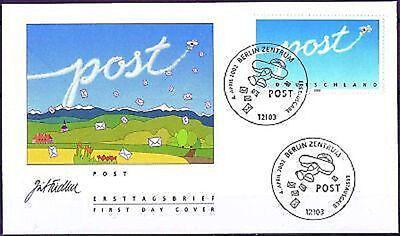 BRD 2002: Post! FDC der Nr. 2250 mit Berliner Ersttagssonderstempeln! 1A! 1611