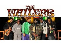 2 X TICKETS FOR THE WAILERS PERFORMING THE LEGEND ALBUM - SHEFFIELD
