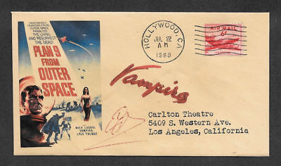 - Plan 9 From Outer Space Collector Envelope Original Period 1950s Stamp OP1200