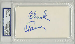 Chuck-Tanner-SIGNED-3x5-Index-Card-Pittsburgh-Pirates-PSA-DNA-AUTOGRAPHED