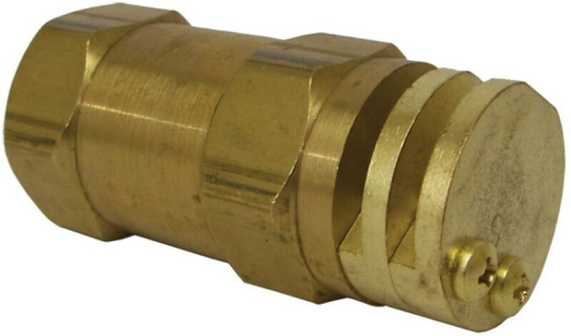 """Boomless Flat Spray Nozzle 1/2"""" #20 Orifices (90° & 180° Caps Included) 6542-1"""