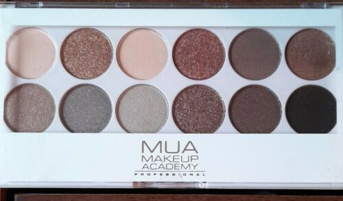 PROFESSIONAL MAKE UP ACADEMY MUA EYESHADOW PALETTE UNDRESS ME TOO EYESHADOWS
