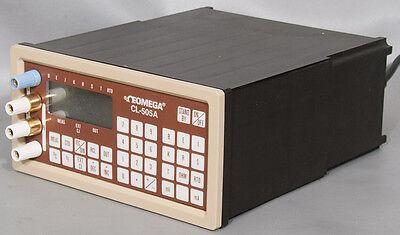 Omega Cl-505a Precision Rtdthermocouplemamvohm Calibratorsimulator