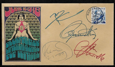 1967 The Who Monterey Pop Festival Featured on Collector's Envelope *OP1261