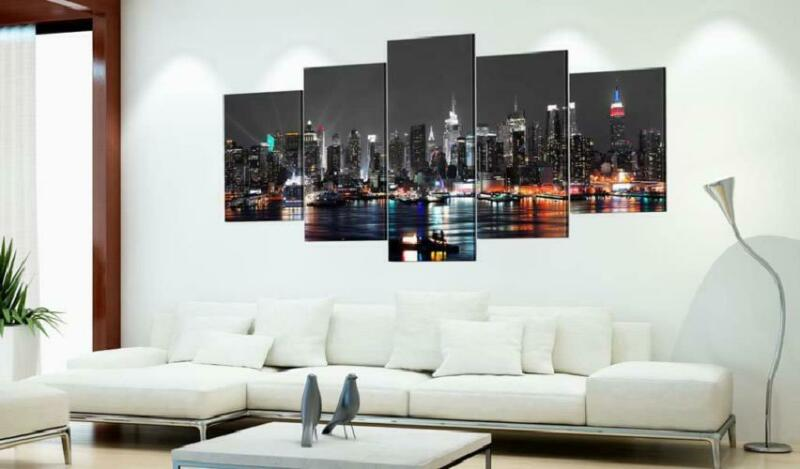 Cityscape York Wall Picture Print Design Painting