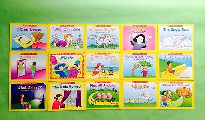 Level A PreK Kindergarten First Grade Learn to Read Childrens Kids Books Lot 15