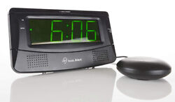 The Sonic Boom Large Number Alarm Clock With Super Shaker (Black)  SB300SSBLK