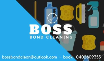 BOSS Bond Cleaning