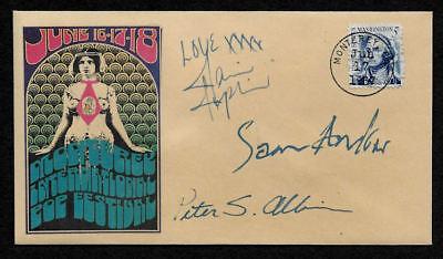 1967 Janis Joplin Monterey Pop Festival Featured on Collector's Envelope *OP1260