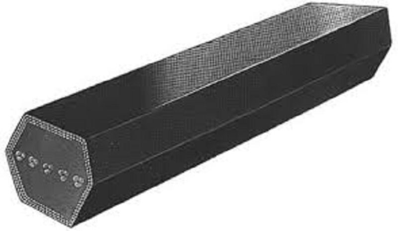 CC195 C-SECTION DOUBLE ANGLED BELT