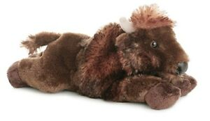 stuffed-animal-plush-8-034-BUFFALO-BISON-aurora