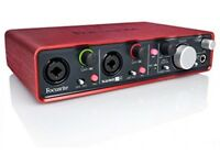 Focusrite 2i4 (1st gen) usb audio interface w/original box, mint condition