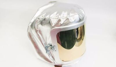 New Gentex 0647ag Aluminized Protective Wide View Hood Fire Apparel Hood