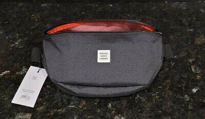 """Herschel Supply Co """"Sixteen"""" Black CrossBody Sling Shoulder Bag Waist Pack NEW !"""