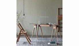 Arco Oak Office Desk by Design House Stockholm New