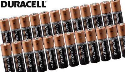 12 X AA Duracell 1.5V Alkaline Batteries LR06 DURALOCK Battery Z1