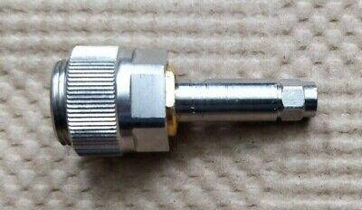 Amphenol Omni Spectra Apc-7 To Sma Male Rf Coaxial Connector Adapter