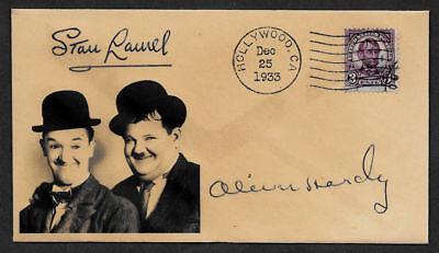 Laurel & Hardy Collector Envelope Original Period 1930s Stamp OP1163