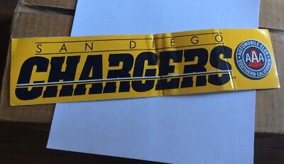 San Diego Chargers 1996 Bumper Sticker