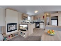 New Willerby Static Caravan For Sale On Hornsea Leisure Park nr Bridlington On East Yorkshire Coast.