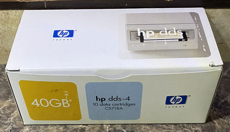 HP DDS-4 40GB C5718A (Lot of 10)
