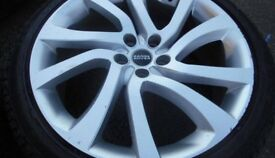 22″ LAND ROVER DISCOVERY STYLE 5011 WHEELS / TYRES - 9.5 X 22″
