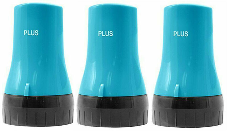 "Plus Guard Your ID Roller for Identity Theft Prevention, 0.5"" 3 Pack (Turquoise)"