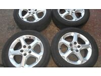 "16"" FORD TRANSIT CONNECT ALLOY WHEELS / TYRES"