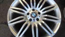 19″ BMW SPIDER STYLE ALLOY WHEELS