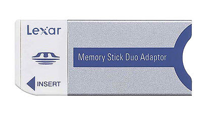 Memory Stick Pro Duo MS Adapter For Lexar Sony 256mb 512mb 8GB 4GB 2GB 1GB PSP