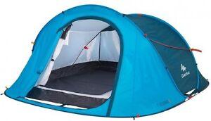 Quechua 2 Seconds Easy III Pop Up Tent 3 Man Blue