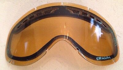 Dragon DXS Goggle Replacement Lens Amber