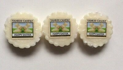 Yankee Candle Happy Easter White Chocolate Bunnies Tarts Wax Melts X 3 Vhtf Item