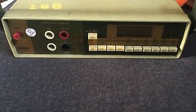 Used Tenma 72-410 Digital Multimeter Free Shipping