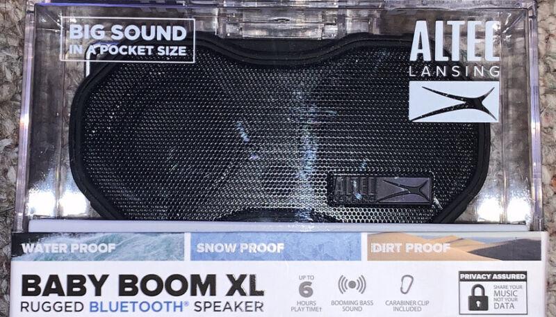 ALTEC LANSING BABY BOOM XL Rugged Bluetooth Speaker IMW270-BLK-WM