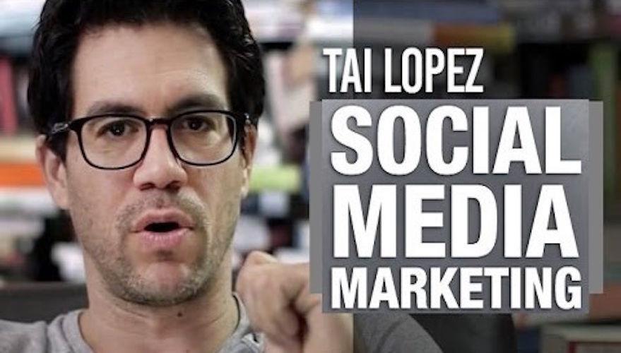 Tai Lopez Social Media Marketing Expert Training Complete Course Ship Free - $4.99