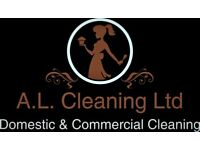 End of tenancy cleans/ sparkle clean or commercial cleaning.