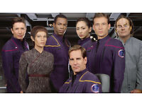 Star Trek: Enterprise - full series in collectors DVD hard cases ... All of the 4 seasons for £25