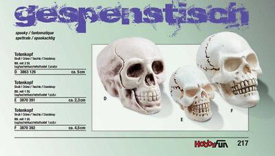 Creapop Halloween Totenkopf,Halloween-Dekoration,Tischdekoration,Skull,