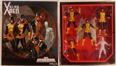 Marvel Legends All New X-Men Cyclops Iceman Beast Angel Jean Grey Bendis Immonen