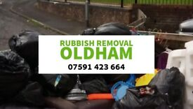 SAME DAY MAN AND VAN RUBBISH/WASTE REMOVALS OLDHAM MANCHESTER & SALFORD
