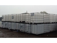 Large 1000 ltr IBC water liquid empty container storeage tank can also deliver if required.
