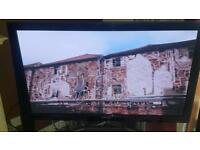 "Samsung 55"" 3D hd freeview plasma tv"