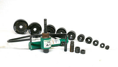 Greenlee 7310 - 4 Knockout Set With Case