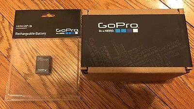 GoPro HERO3+ Silver Manufactured Refurbished with Rechargeable Battery New