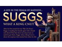Suggs Life In The Realm of Madness, Thursday 1st March, Glasgow